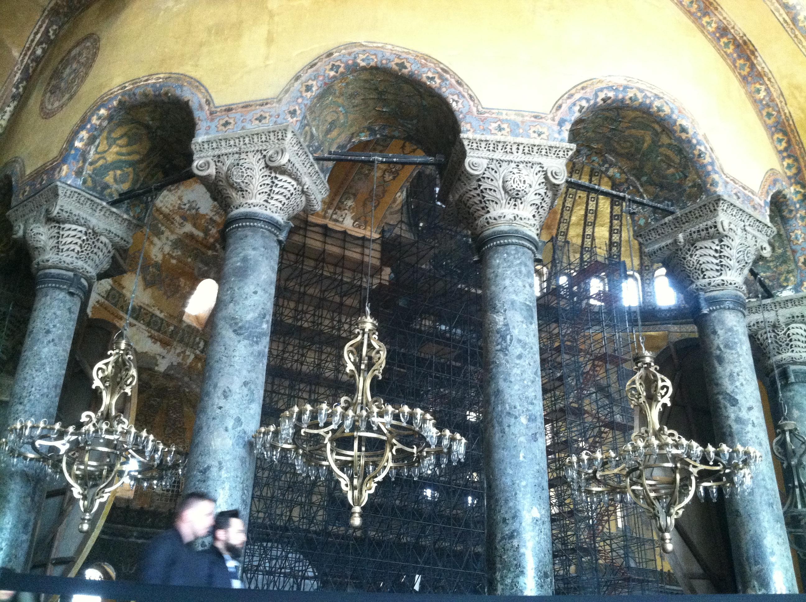 متحف آيا صوفيا hagia sophia - اسطنبول